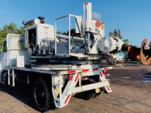 Highway Pressure Digger Auger Drill Truck For Sale