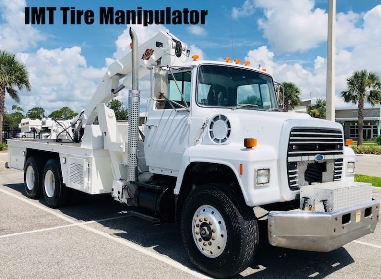 Tire Manipulator Truck For Sale