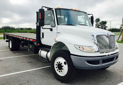 International DuraStar Flatbed Truck For Sale