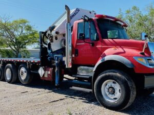 Knuckle Boom Crane Truck For Sale