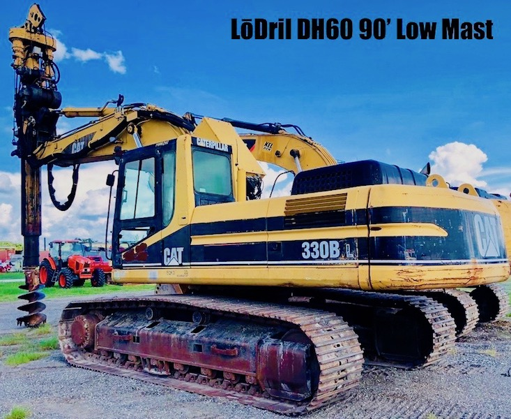 LōDril DH60 90' Low Mast