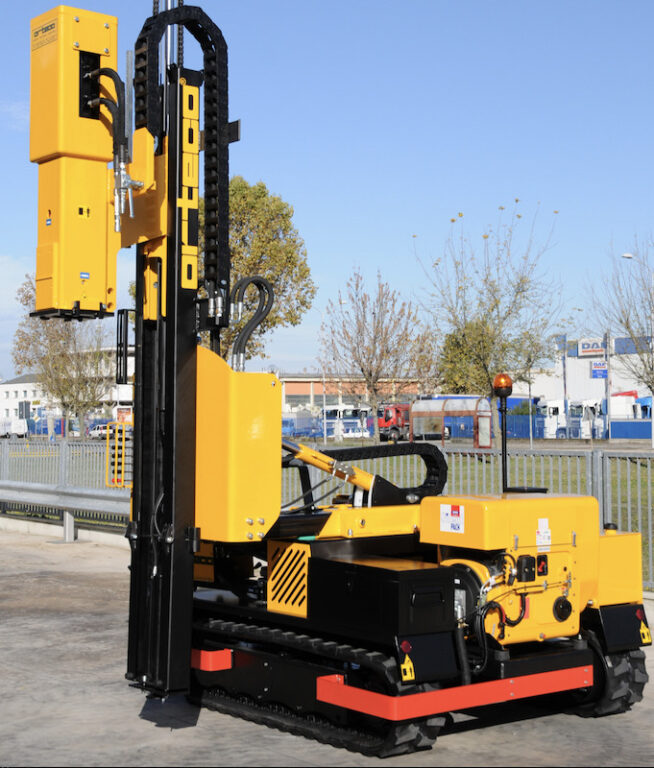 Solar Pile Driver For Rent