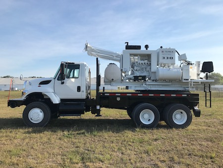 Drill Truck For Rent