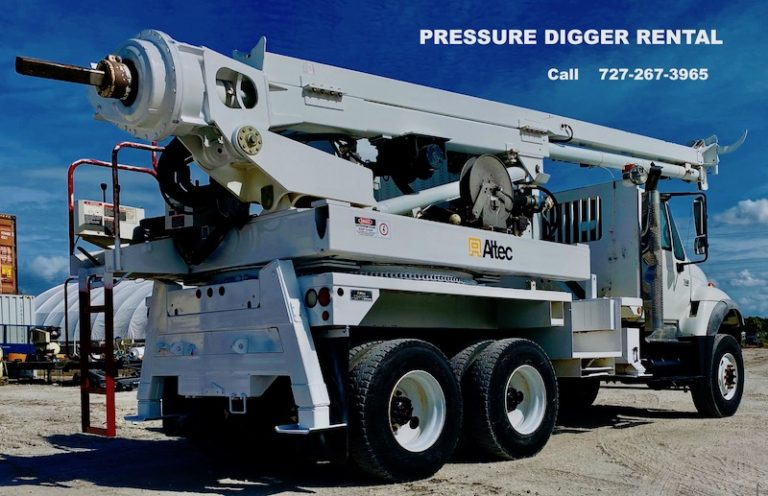 Pressure Digger For Rent