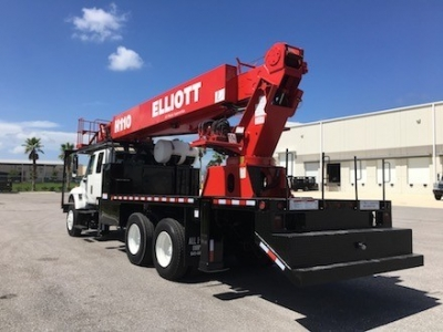Sign Crane Truck Elliott