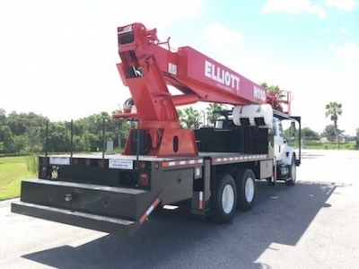 Sign Truck Crane Elliott