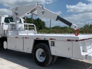 Tire Boom Trucks For Sale