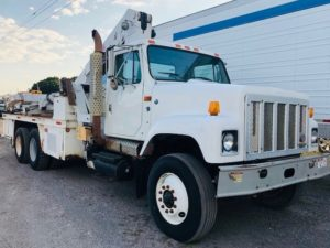 Tire Manipulator Service Trucks For Sale,