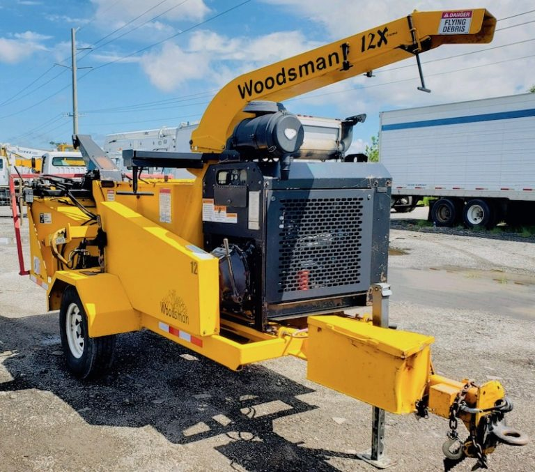 Wood Chipper Woodsman 12X