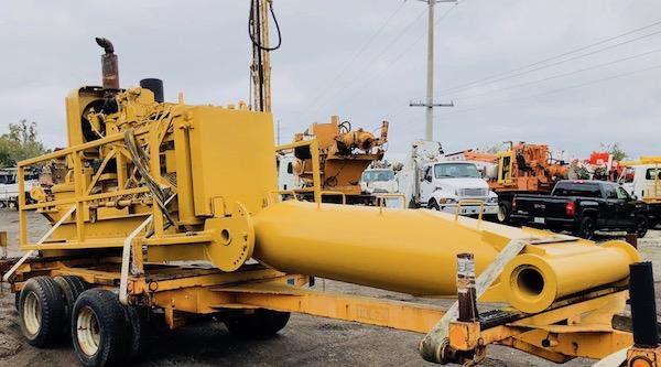 Crane Mount Piling Drill