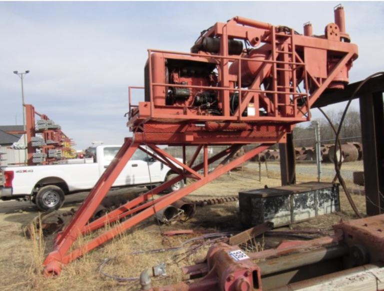 Crane Mounted Drill