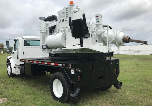 Drill Machine Texoma 330Truck Drill