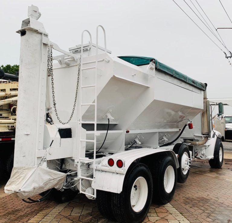 shortcrete truck