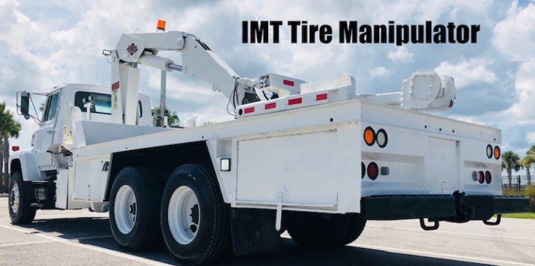 Tire Manipulator Truck For Sale