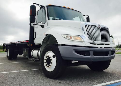 International DuraStar Flatbed Truck For Sale