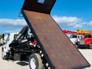 Knuckle Boom Dump Truck