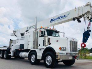 Sign Crane Boom Trucks