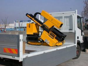 Solar Pile Driver Truck Mount