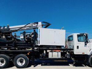 Low Mast Digger, Short Mast Drill, Low Clearance Pressure Digger