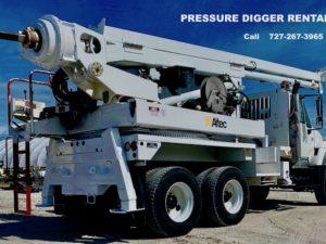 Pressure Digger For Rent