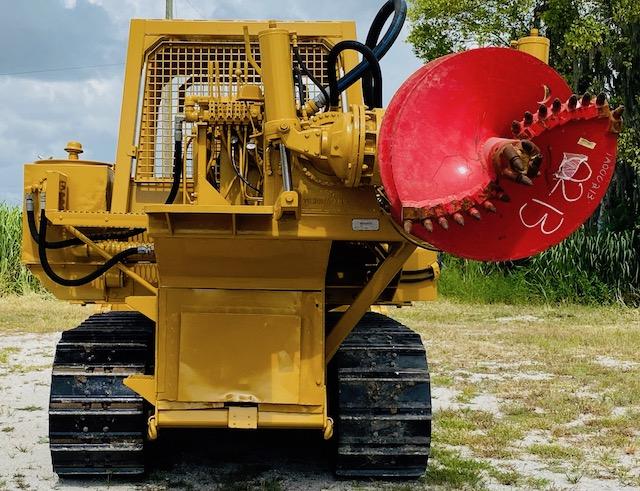 Pressure Digger Track Crawler