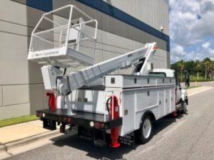 Sign Crane Truck