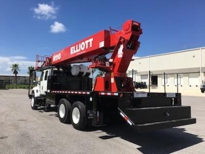 Sign Crane Truck Elliott