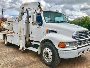 Stellar 15000 Crane Tire Handler OTR Service Truck