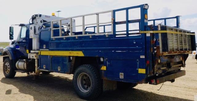 Stellar 6000 Tire Crane Service Truck