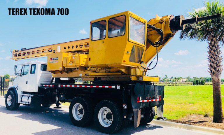 TEREX TEXOMA 700 Pressure Drill