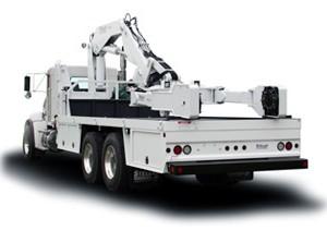 Stellar 15000 OTR Tire Manipulator Truck