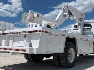 Tire Boom Truck Manipulator